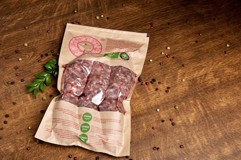 ORGANIC GRILL SAUSAGE FROM MARBLE BEEF