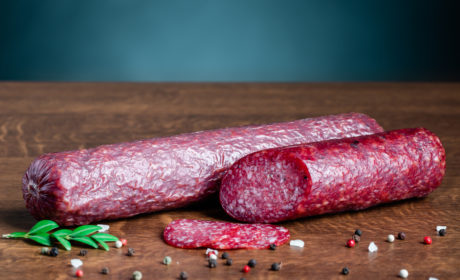 SAUSAGE VENICE SALAMI, ORGANIC, RAW-DRIED, HIGHEST GRADE