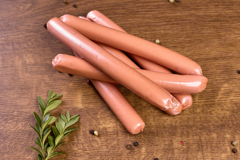ORGANIC SAUSAGES WITH MILK