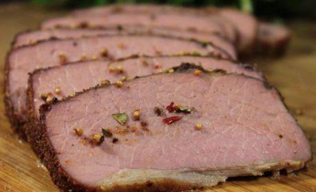 Пастрома з яловичини в маринаді